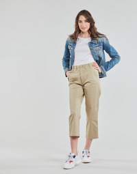 Kleidung Damen Chinohosen Tommy Jeans TJW HIGH RISE STRAIGHT Beige