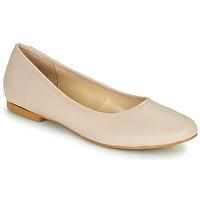 Schuhe Damen Ballerinas So Size JARALUBE Beige