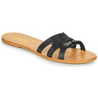 Schuhe Damen Pantoffel So Size MELINDA Schwarz