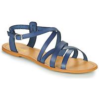 Schuhe Damen Sandalen / Sandaletten So Size IDITRON Marine