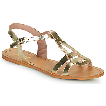 Schuhe Damen Sandalen / Sandaletten So Size DURAN Gold