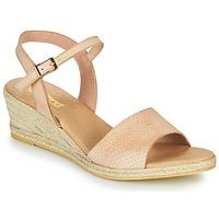 Schuhe Damen Sandalen / Sandaletten So Size OTTECA Beige