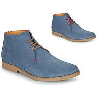 Schuhe Herren Boots So Size OOLOO Blau