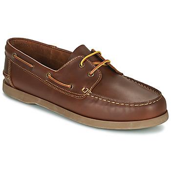 Schuhe Herren Bootsschuhe So Size MALIK Braun