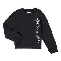 Kleidung Mädchen Sweatshirts Columbia COLUMBIA PARK FRENCH TERRY CREW Schwarz