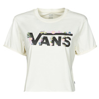 Kleidung Damen T-Shirts Vans BLOZZOM ROLL OUT Weiss