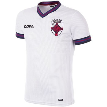 Kleidung Herren T-Shirts Copa Football Maillot Copa Angleterre blanc