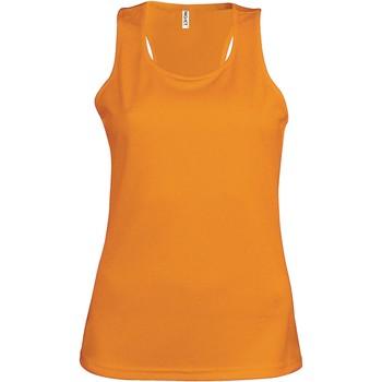 Kleidung Damen Tops Proact Débardeur femme  Sport orange