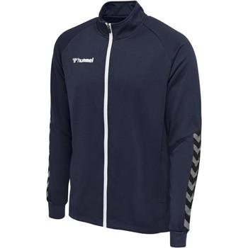 Kleidung Herren Trainingsjacken Hummel Veste  Zip hmlAUTHENTIC Poly bleu marine