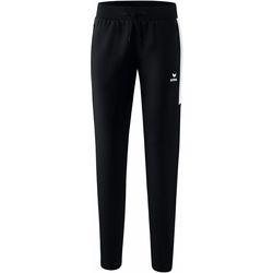 Kleidung Damen Jogginghosen Erima Pantalon femme  Worker Squad noir/blanc
