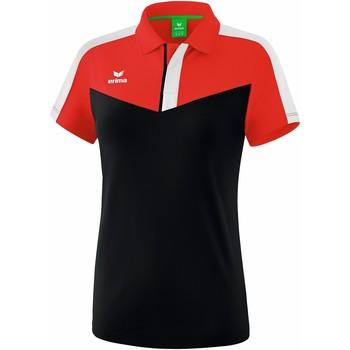 Kleidung Damen Polohemden Erima Polo femme  Squad rouge/noir/blanc