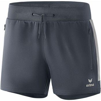 Kleidung Damen Shorts / Bermudas Erima Short femme  Worker Squad gris foncé/argent