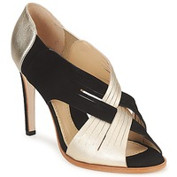 Schuhe Damen Pumps Moschino MINEK Schwarz / Gold