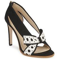 Schuhe Damen Pumps Moschino DELOS ESCA Schwarz / Elfenbein