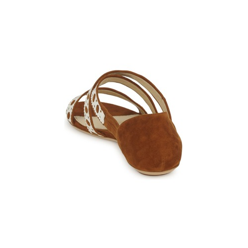 Moschino DELOS SAND Camel / Elfenbein Schuhe Sandalen Sandalen Schuhe / Sandaletten Damen 190 763068