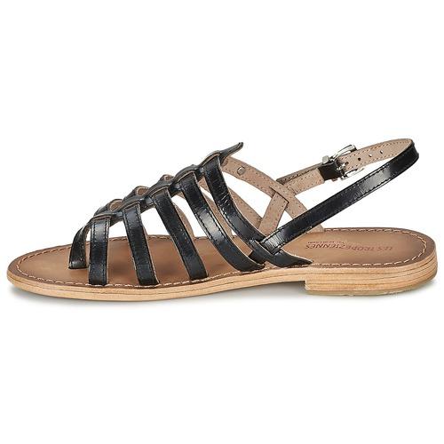 Les Tropéziennes par M Belarbi HERISSON Schwarz  Schuhe Sandalen / Sandaletten Damen 44