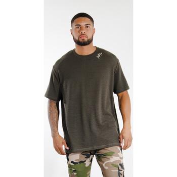 Kleidung Herren T-Shirts Sixth June T-shirt  logo épaule kaki