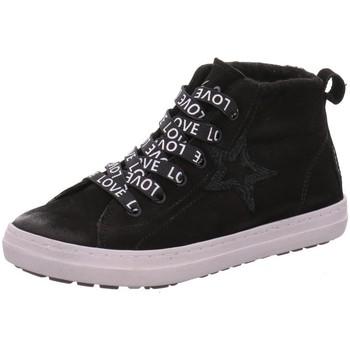 Schuhe Mädchen Derby-Schuhe & Richelieu Vado Schnuerschuhe Star 23110-001 schwarz