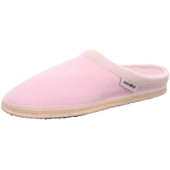 Schuhe Damen Hausschuhe Haflinger Walktoffel Kaschmir 611103 29 rosa