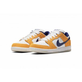 Schuhe Sneaker Low Nike Air Force 1 high x Comme des Garçons White/Regency Purple-Laser Orange
