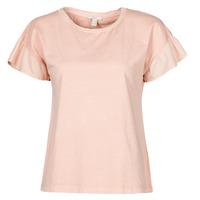 Kleidung Damen T-Shirts Esprit T-SHIRTS Rose