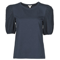 Kleidung Damen T-Shirts Esprit T-SHIRTS Schwarz