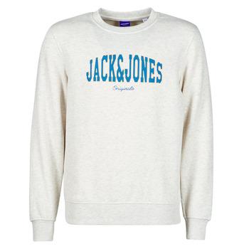 Kleidung Herren Sweatshirts Jack & Jones JORHART Weiss