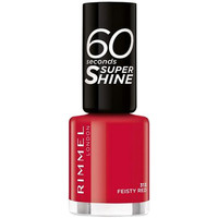 Beauty Damen Nagellack Rimmel London 60 Seconds Super Shine 313-feisty 8 ml