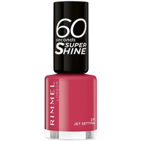 Beauty Damen Nagellack Rimmel London 60 Seconds Super Shine 271-jet Setting 8 ml