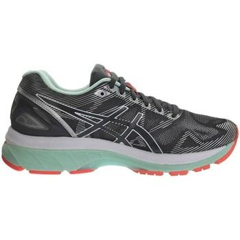 Schuhe Damen Laufschuhe Asics Gelnimbus 19 Schwarz, Grau
