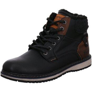 Schuhe Herren Boots Tom Tailor 2185302 BLACK schwarz