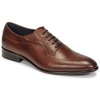 Schuhe Herren Richelieu Carlington OULIO Cognac