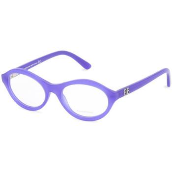 Uhren & Schmuck Damen Sonnenbrillen Balenciaga - BA5086 Blau