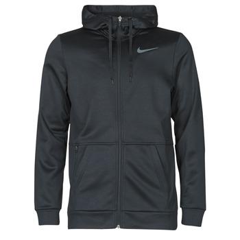Kleidung Herren Sweatshirts Nike TF HD FZ Schwarz / Grau