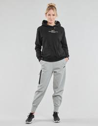 Kleidung Damen Jogginghosen Nike NSTCH FLC ESSNTL HR PNT Grau / Schwarz