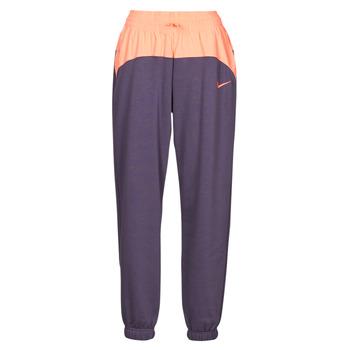 Kleidung Damen Jogginghosen Nike NSICN CLSH JOGGER MIX HR Violett / Rose