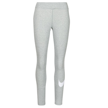 Kleidung Damen Leggings Nike NSESSNTL GX MR LGGNG SWSH Grau / Weiss