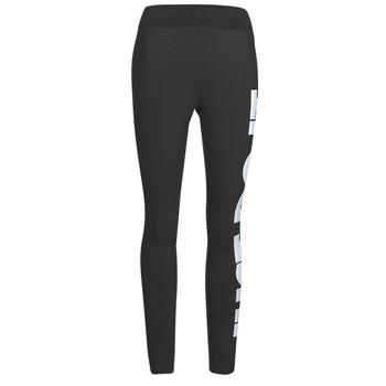 Kleidung Damen Leggings Nike NSESSNTL GX HR LGGNG JDI Schwarz / Weiss