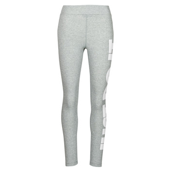 Kleidung Damen Leggings Nike NSESSNTL GX HR LGGNG JDI Grau / Weiss