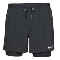 Kleidung Herren Shorts / Bermudas Nike DF FLX STRD 2IN1 SHRT 5IN Schwarz