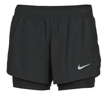 Kleidung Damen Shorts / Bermudas Nike 10K 2IN1 SHORT Schwarz