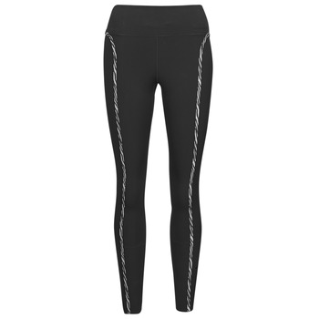 Kleidung Damen Leggings Nike NIKE ONE LUXE ICNCLSH TGT Schwarz / Violett