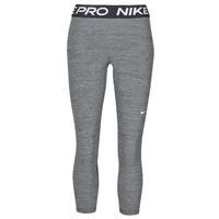 Kleidung Damen Leggings Nike NIKE PRO 365 TIGHT CROP Grau / Weiss
