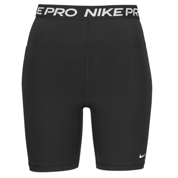 Kleidung Damen Shorts / Bermudas Nike NIKE PRO 365 SHORT 7IN HI RISE Schwarz / Weiss