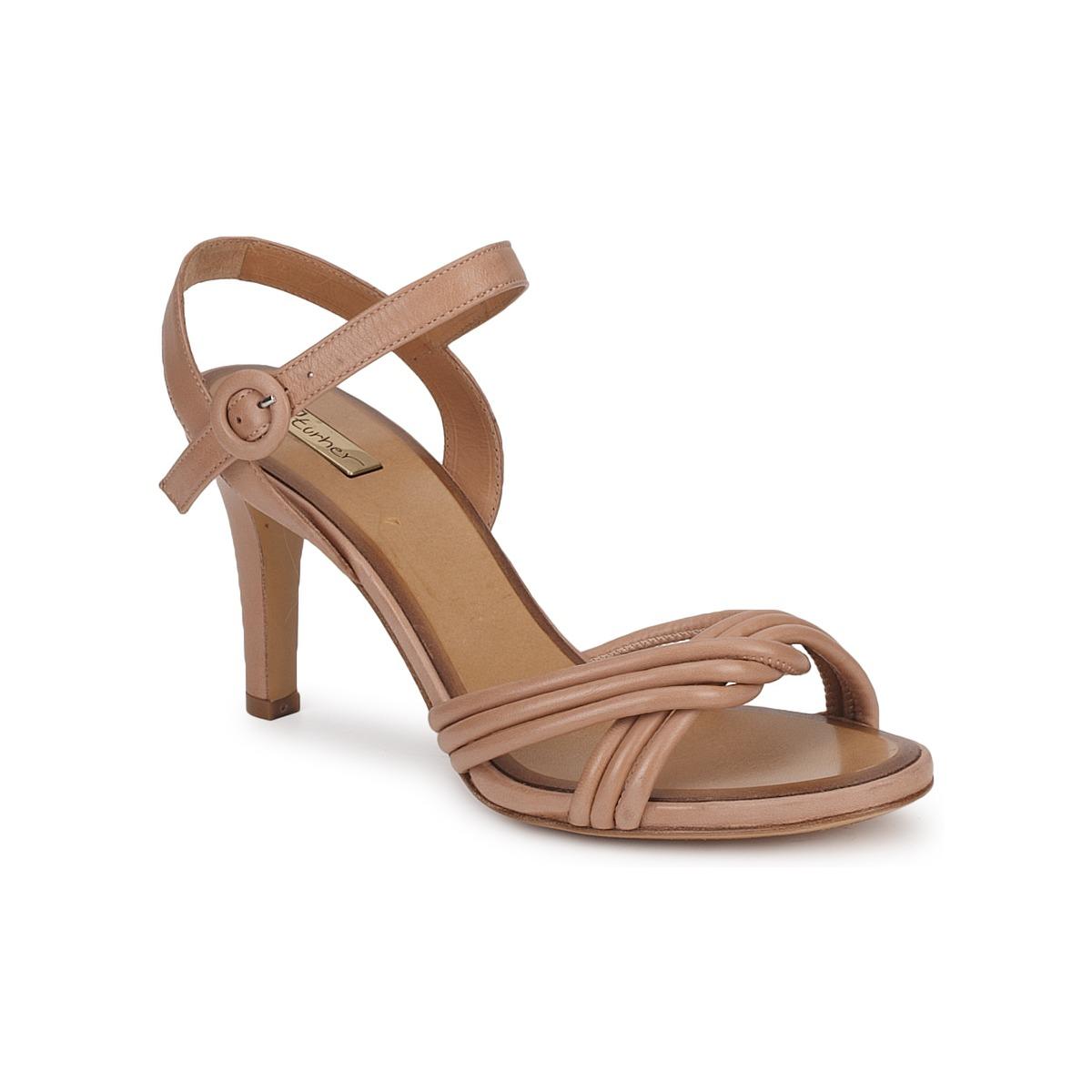 Eva Turner  Braun - Kostenloser Versand bei Spartoode ! - Schuhe Sandalen / Sandaletten Damen 188,50 €