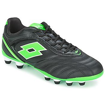 Schuhe Herren Fußballschuhe Lotto STADIO P VI 300 FG Schwarz / Grün