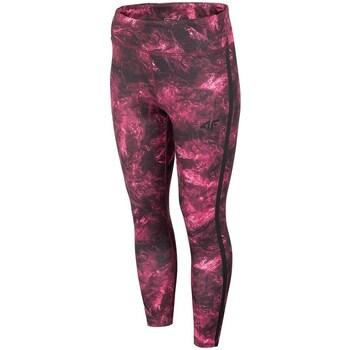 Kleidung Damen Hosen 4F SPDF010 Dunkelrot