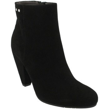 Schuhe Damen Low Boots She - He  Negro