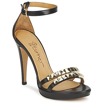 Schuhe Damen Sandalen / Sandaletten Eva Turner  Schwarz
