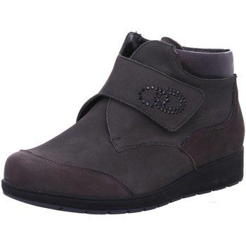 Schuhe Damen Boots Waldläufer Stiefeletten DENVER NUBUK DENVER 812815-302/052 grau